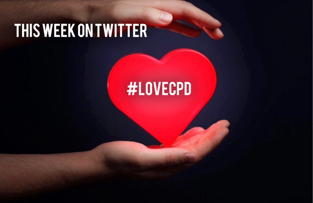 #LOVECPD: A Twitter discussion this week...