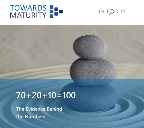 In-Focus: 70+20+10=100: The Evidence Behind The Numbers