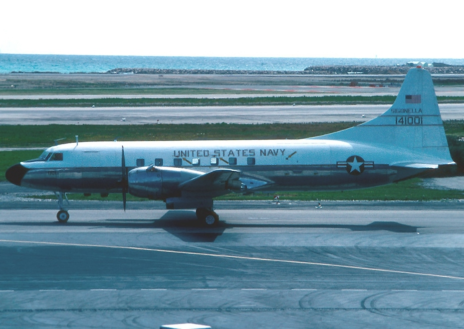 Convair_C-131F_(R4Y-1-340-71),_USA_-_Navy_AN1076073 NAS Sigenalla aircraft