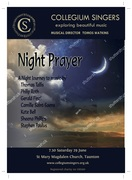 Collegium Singers Concert - Night Prayer