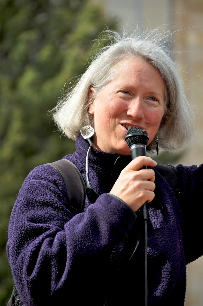 Kathleen Christensen Youth Pesticide Protest