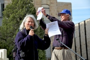 Kathleen Christensen & Tim Gilpin Youth Pesticide Protest