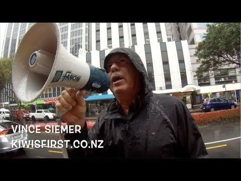 NZ has Secret Courts, Secret Judges, Secret Rulings. Kiwis protest outside Supreme Court