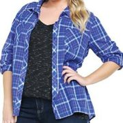 Blue Berry Designer Oversized Flannel Shirts Manufacturer