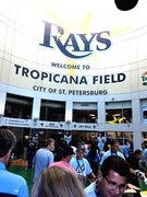 Inside the Main Entrance of Tropicana Field
