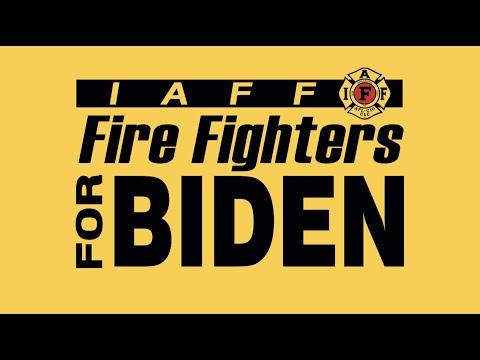 IAFF Endorses Joe Biden for President