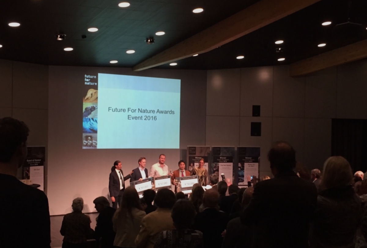 Future For Nature Awards Ceremony 2016