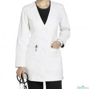 Pearly White Coat for Lady Doctors