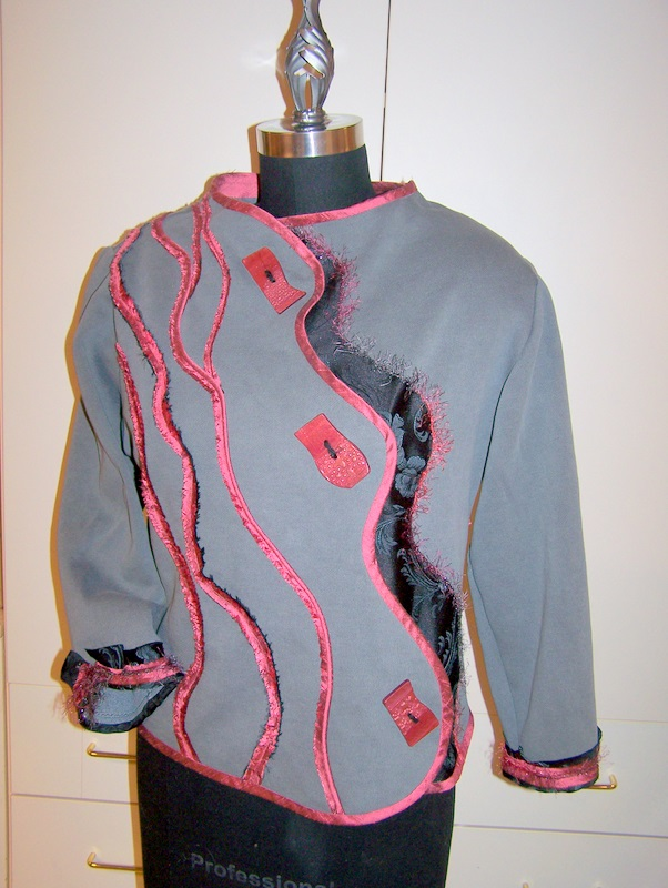 Londa's Swirl Jacket: Promotional Pattern