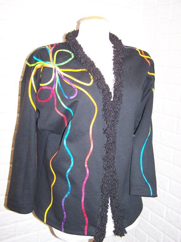 Jacket With Rainbow FusibleTape and Italian Trim