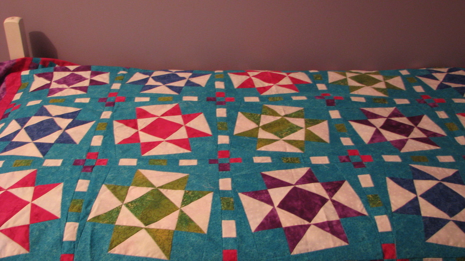 Jacklyn's Crooked Quilt