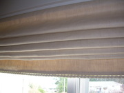 Roman Blind in Hemp