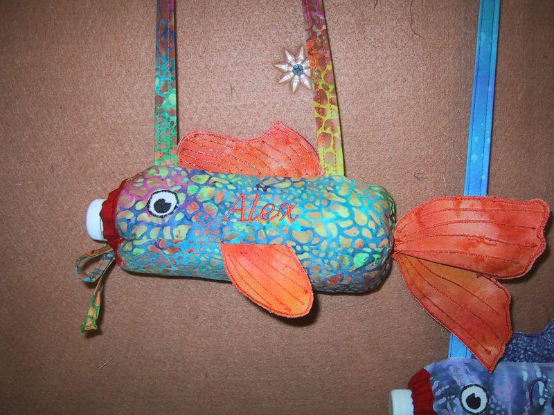 Alex Water bottle fish
