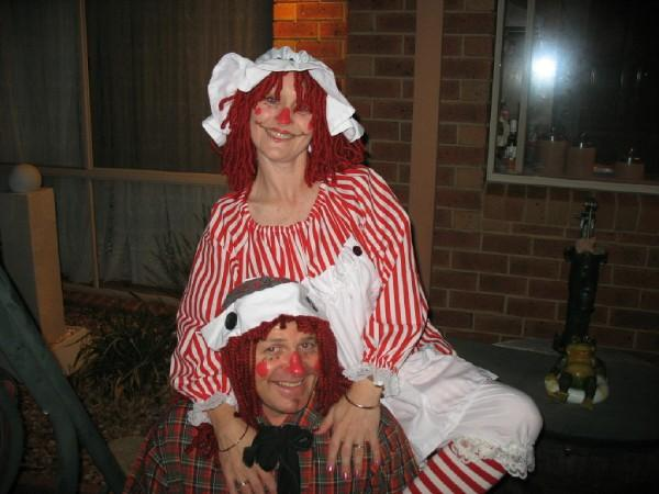 Andy & Annie Costume