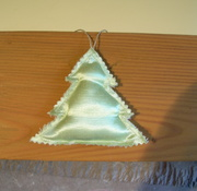 Star Hemp/Silk Ornament
