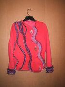 Swirl Sweatshirt Jacket