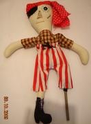 Custom Pirate Doll
