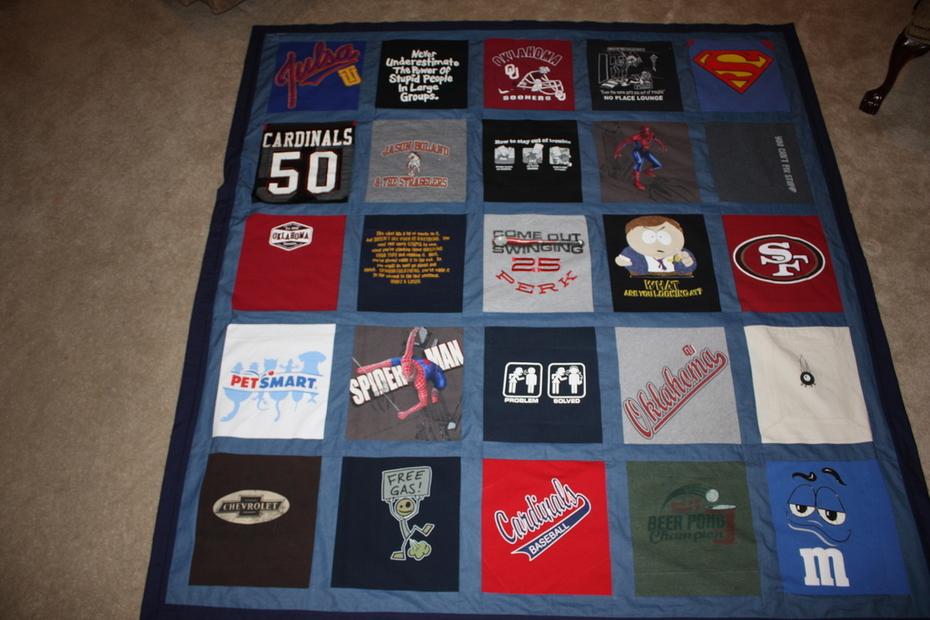 T- shirt quilt