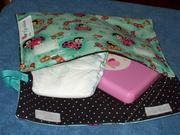 Diaper/wipe case