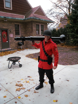 Team Fortress Costume for my Son