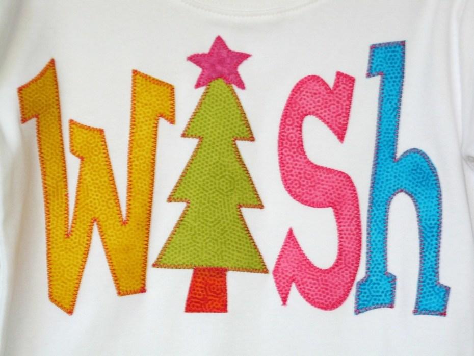 """Wish"" Christmas T Shirt"