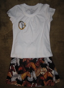 Horse Lover's Skirt and Top