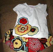 fun flower shirt and skirt