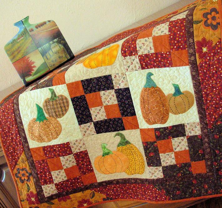 Pumpkin Talk Quilt