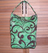 greenbrown lunch bag
