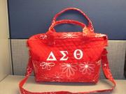 Delta  Sigma Theta Handbag Front