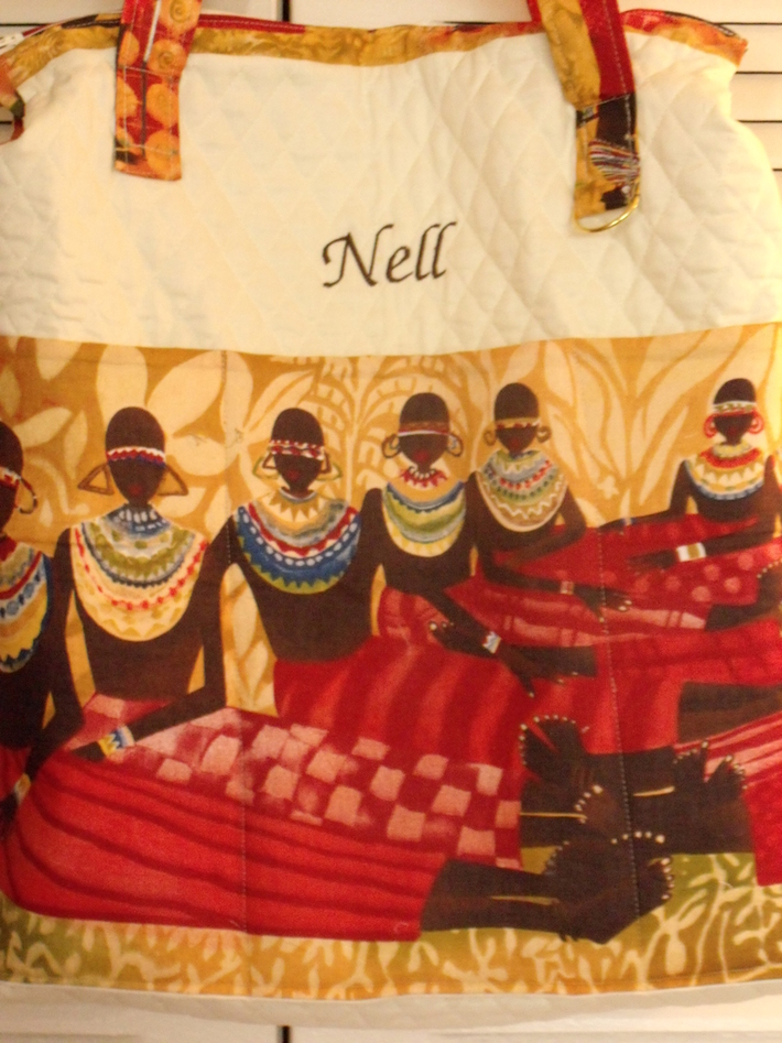 African Ladies Tote Front