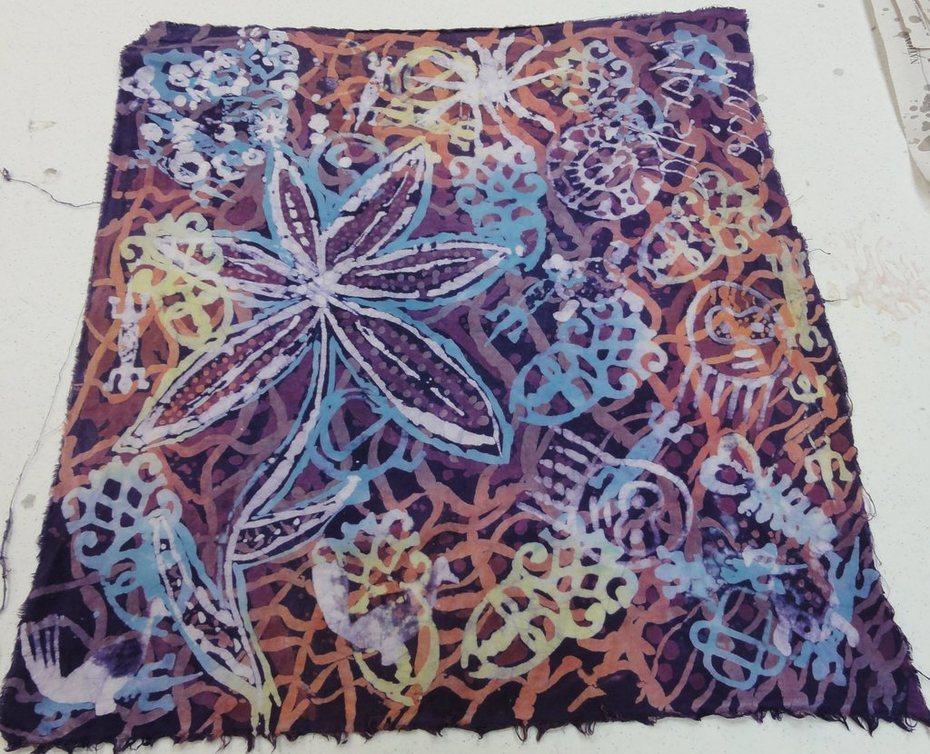 my 1st batik