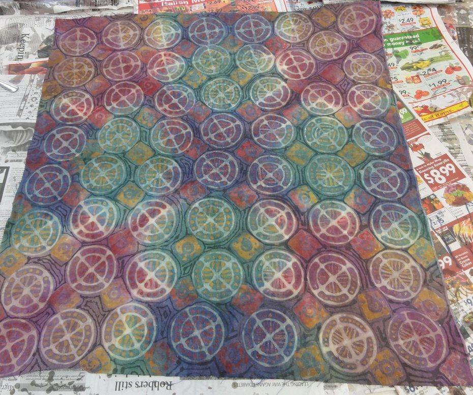 circle batik