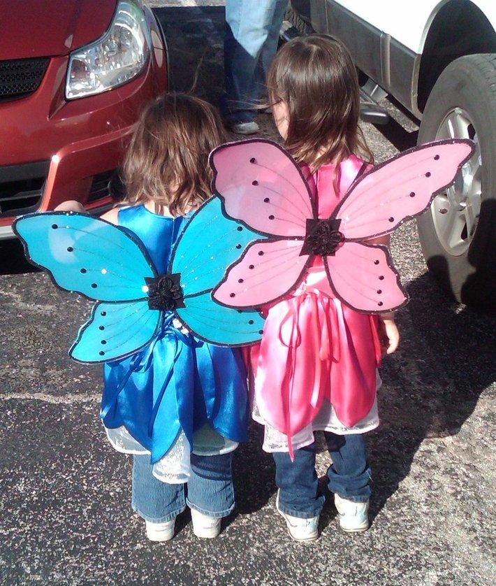 Halloween 2010 fairy costumes