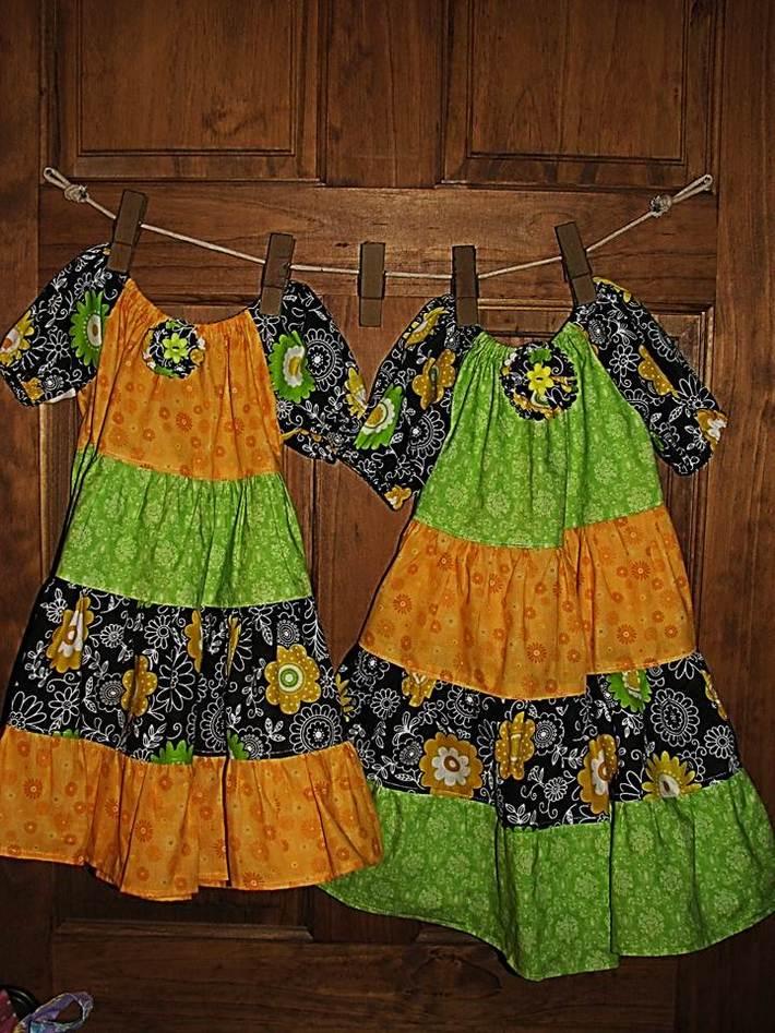 Sister Peasant Dresses