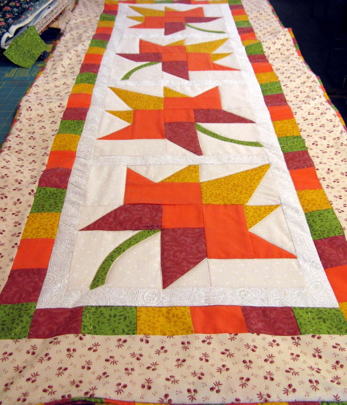Autumn Leaves Table Topper