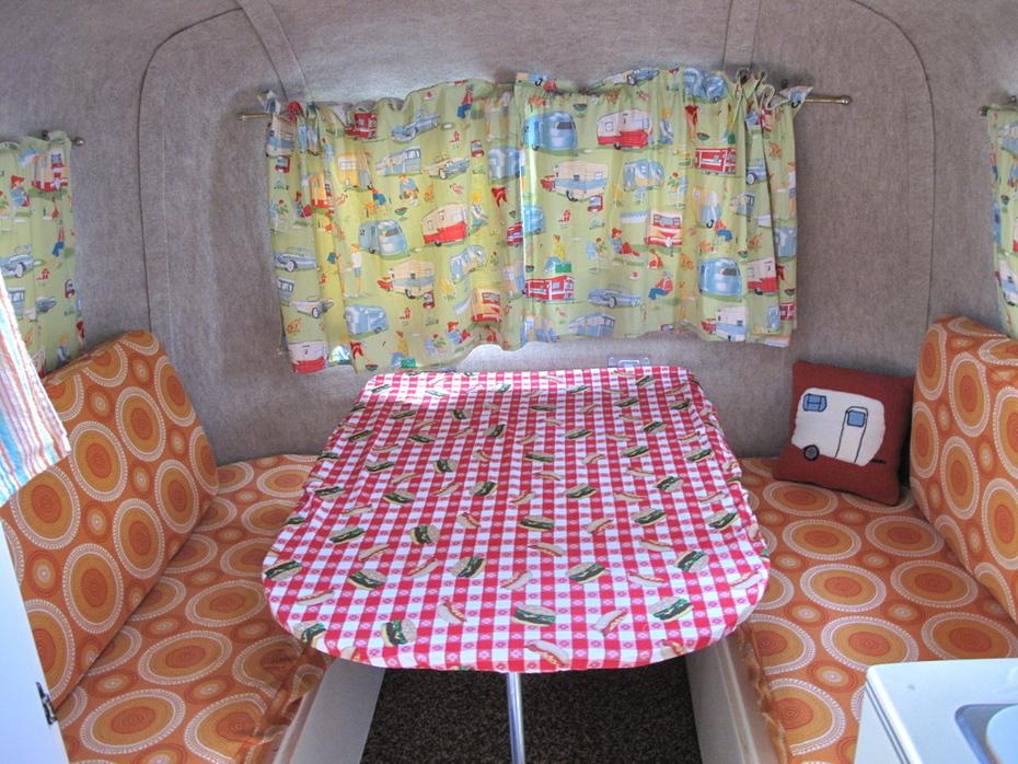 My travel trailer interior