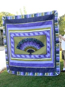 Queen Quilt with Free Motion