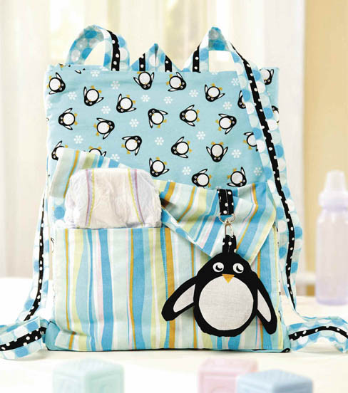 Free Baby Penguin Backpack Sewing Pattern
