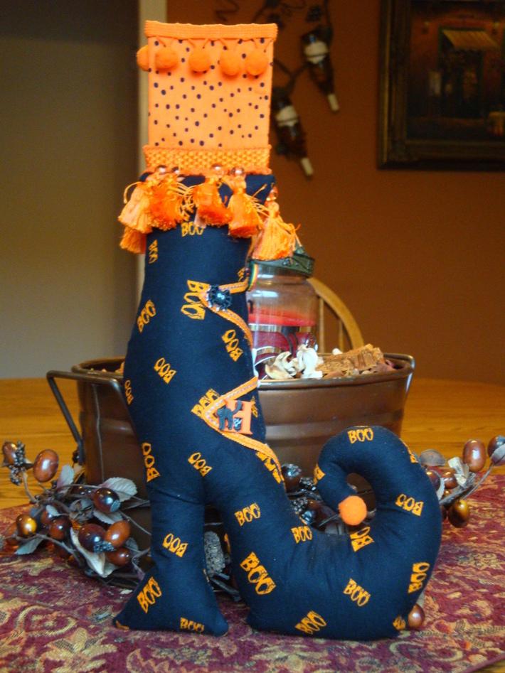 Fashionista Halloween Boot