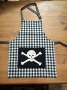 Skull & Crossbones Pirate Apron
