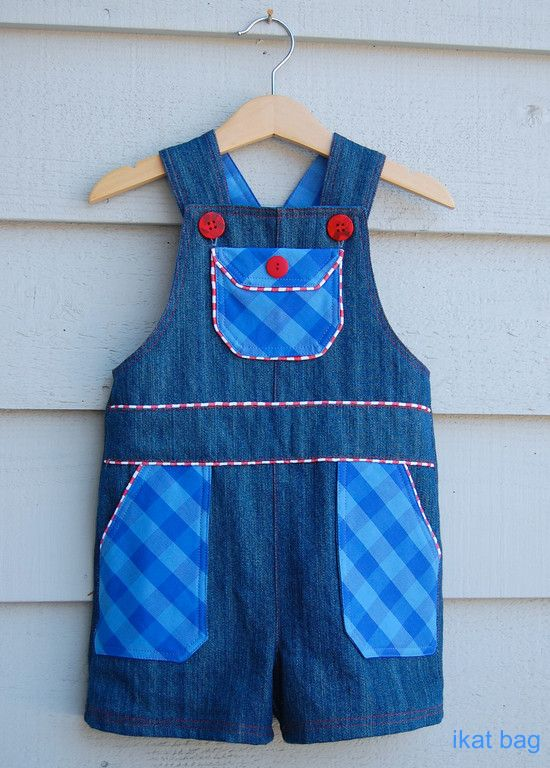 Boys Shortalls Tutorial & Pattern