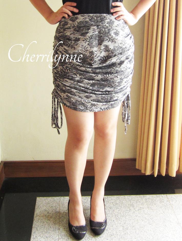 Drawstrings Skirt