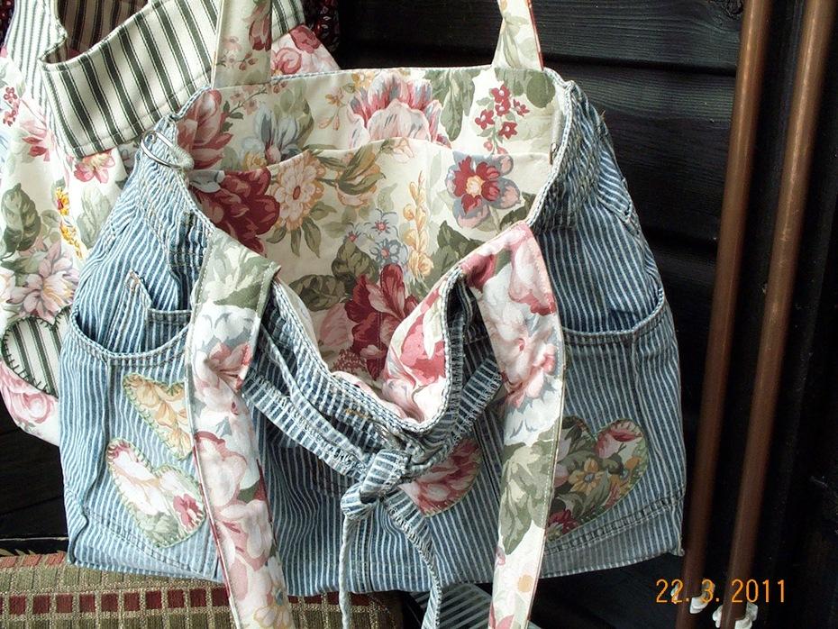 Striped bag (inside)