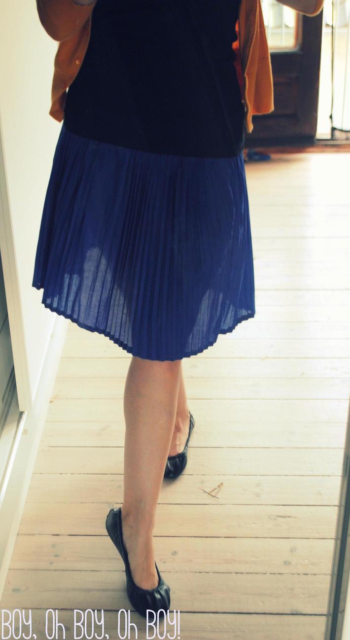 Classic Accordian Pleat Skirt