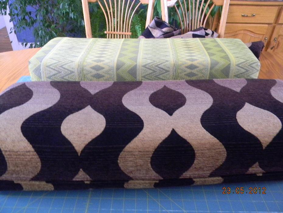 Trailer cushions 2012