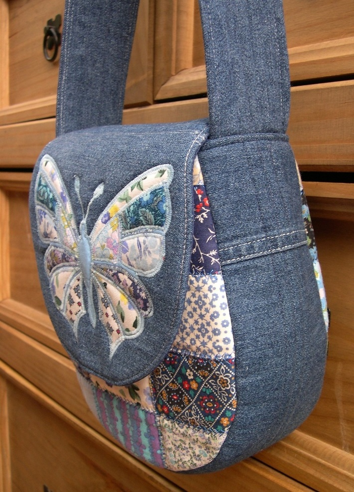 Side view of Butterfly Bag