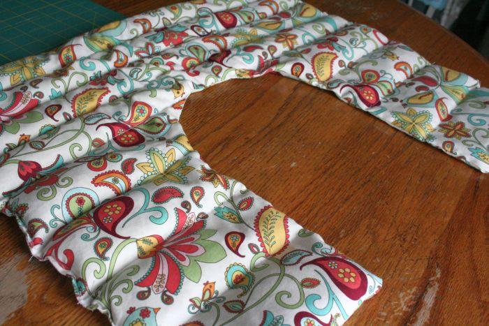 Neck & Shoulder Heating Pad Sewing Tutorial