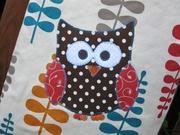 Owl tote
