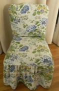 Shabby Chic Chair Slipcover